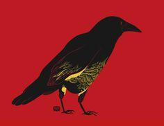 darksilenceinsuburbia:  Kristina Collantes. Crow.