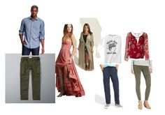 """""""draft"""" by silverpenniesphotography on Polyvore featuring Abercrombie & Fitch, Old Navy, Patrizia Pepe and BP."""