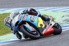 Alex Marquez Jerez test