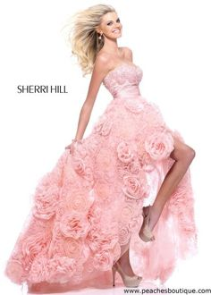 Sherri Hill Prom Dresses and Sherri Hill Dresses 21170 at Peaches Boutique