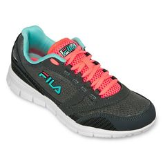 jcpenney - Fila® Memory Deluxe Womens Running Shoes - jcpenney