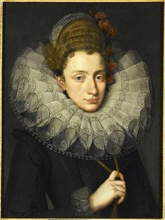 ab. 1605 Attributed to Frans Pourbus the Younger - Portrait of a lady