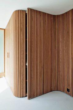 Interior Architecture Fesign Dream Homes – Wood Design – Haus Dekoration Wooden Walls, Wooden Doors, Oak Doors, Entry Doors, Wooden Wall Panels, Front Entry, Renovation Design, Timber Battens, Timber Panelling