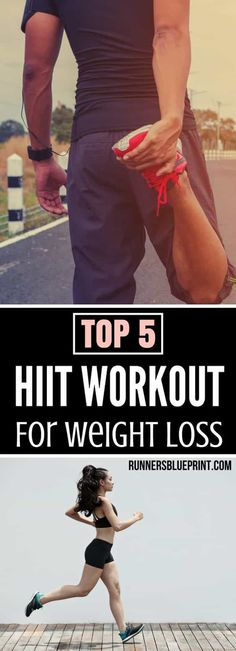 High-intensity interval training, or HIIT, is the ideal way to hammer out a quick workout whhttp://www.runnersblueprint.com/hiit-workouts-for-weight-loss/ile burning a lot of calories. Today I'm going to share with you some my favorite interval workout r