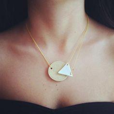 ceramic necklace, jewelry