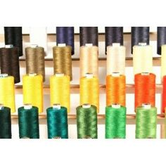 58 LARGE SPOOLS of ALL PURPOSE Polyester Sewing Quilting Serger threads 880Yards