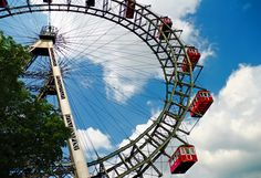 Prater Park Ferris Wheel, Vienna, Austria