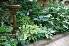 Organic Gardening Quotes – The Garden Forum - Garten Dekoration Part Shade Perennials, Yellow Perennials, Small Garden Images, Garden Forum, Shade Garden Plants, Corner Garden, Colorful Garden, Garden Stones, Garden Inspiration