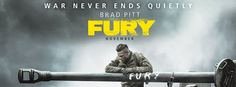 Fury Movie Banner Poster 2014