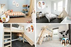 Kids rooms Villa Wars 2015 The Block Nz, Villa, Loft, Kids Rooms, Bed, Furniture, Home Decor, Decoration Home, Stream Bed