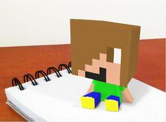 Dit ben ik in minecraft 3D print