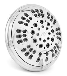 6 Function Luxury Shower Head - Best High Pressure, Wall Mount, Chrome Finish, Ultra-Luxury Adjustable Showerhead System With Invigorating Spa-Like Rain Massage By And From Top Brand Bath Manufacturer Aqua Elegante http://www.amazon.com/dp/B00Y71VXP4/ref=cm_sw_r_pi_dp_XiV7vb1M2CAC6