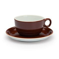 d7cfbebb70c5ba 6 Vienna Coffee House Cappuccino Cups Brown