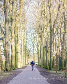 One of my favourite shots from a wedding in Almelo that I was covering the other day. Love this couple; loved these trees! #amsterdam #wedding #photographer