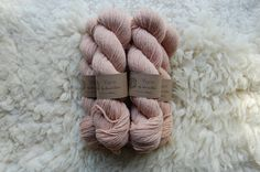 yarn dyed with horsetail, annie claire