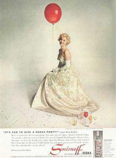 Smirnoff Vodka 1959 Zsa Zsa Gabor - Mad Men Art: The 1891-1970 Vintage Advertisement Art Collection