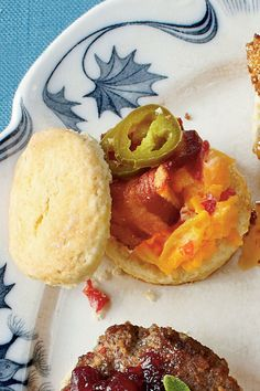 Shaved country ham party biscuits recipes