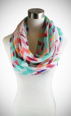 Shop Lulu Cozy by LuLu Spring Night Carousel Infinity Scarf