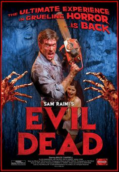 Evil Dead Movie Included with Zombie Movie Night Package.