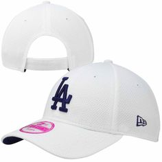 db4ef53e2 New Era L.A. Dodgers Ladies Tech Essential Adjustable Hat - White Dodgers  Outfit, Dodgers Gear