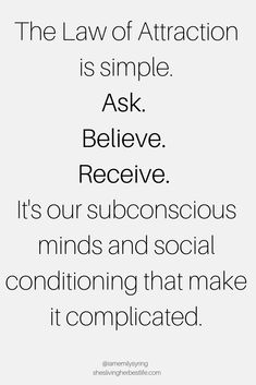 Using the Law of Attraction to manifest anything we want in life is simple. It's always working. Learn how to use the Law of Attraction to your advantage and use it effortlessly. Positive Affirmations Quotes, Affirmation Quotes, Positive Quotes, Affirmations For Success, Wealth Affirmations, Positive Psychology, Law Of Attraction Love, Law Of Attraction Planner, Manifestation Law Of Attraction