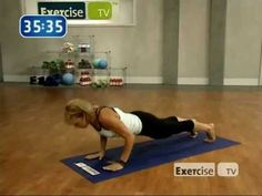Yoga Fitness Plus with: Elise Gulan     It burns.