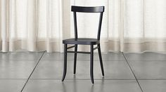 Cole Wood Dining Chair | Crate and Barrel