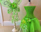 Tinkerbell Tutu, Tinkerbell Costume, Fairy Wings, Tinkerbell Dress, Tinkerbell Party, Fairy Costume, Tinkerbell Party Favors, Fairy Party