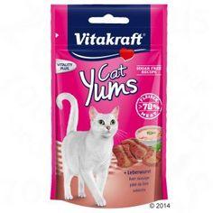 Vitakraft Cat Yums con paté de hígado para gatos