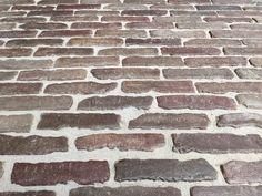 Zeer Oude Waaltjes Straatstenen Binnenvloer 029 WB