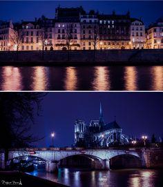 Paris by night.