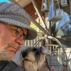 Nope Minnie: yes me: nope Minnie: its comming summer yee. First tea out in 2018. #miniatureschnauzer #schnauzer #dog #summer #tea