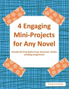 This lively set of four no-prep activities from Spark Creativity inspires students to connect literary characters to the modern world. As they write radio essays, tweet, blog and program cell phones for their chosen characters, students will not only analyze character traits, but consider larger modern questions of style, marketability and audience.