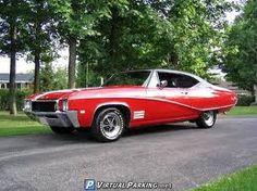 like mine..except mine was blue w a ragtop! 1968 Buick skylark -