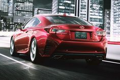 Lexus RC Coupe breaks cover
