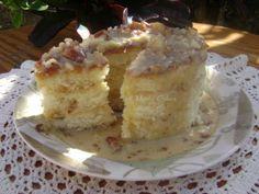 Praline Cake   must. make. this. cake.