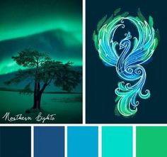 Color Inspirations – Northern Lights | StitchPunk | Bloglovin'