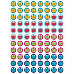 880 Mini Books Design Reading Reward Stickers for Teachers