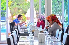 Leziz yemekler Hünkar Palace'da.