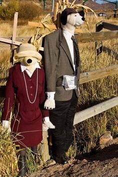 15 Scarecrow Ideas for Fall Fun - Just Short of Crazy