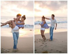 Inspired by This July Sky Engagement Session | Valorie Darling Photography #beach