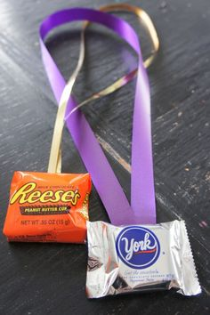 Candy Medals for game winners