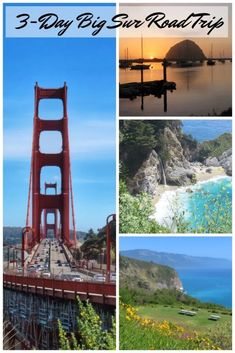 A 3-Day Big Sur Road Trip You Can Duplicate - Postcards & Passports #bigsur #california #usa #roadtripping