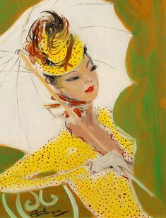 Illustration by Jean-Gabriel Domergue