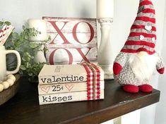 Valentine Day Love, Valentine Day Crafts, Valentine Ideas, Valentines Day Quotes For Him, Easter Crafts, Farmhouse Books, Farmhouse Decor, Valentines Day Decorations, Valentines Day Desserts