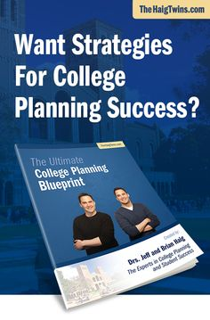 Get our FREE Ultimate College Planning Blueprint that reveals… The TOP FIVE FACTORS that college admission officers look for... Road map for college admissions success... List of powerful resources on the college admissions process.