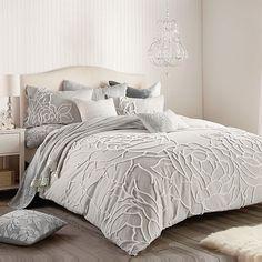 Rose Comforter, Queen Comforter Sets, King Comforter, Coral Bedding Sets, Grey Bedding, Vintage Inspired Bedroom, Master Bedroom, Bedroom Decor, Bedroom Ideas