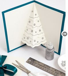 pop up christmas tree card 4