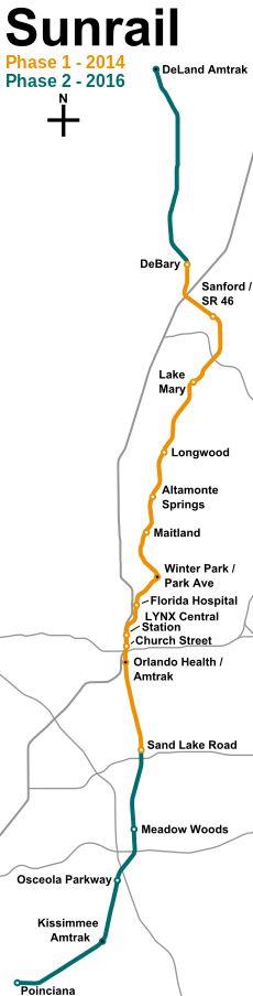 Mbta Commuter Rail Map See More Sunrail Orlando