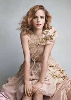 ethereal Emma Watson in Vanity Fair